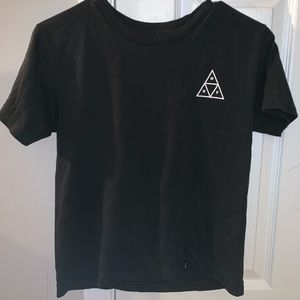 black huf shirt
